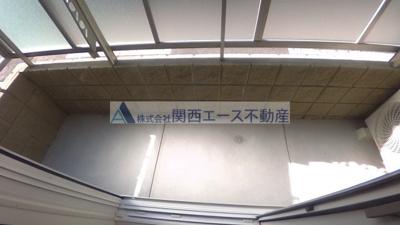【バルコニー】テラスシャディーケーエス
