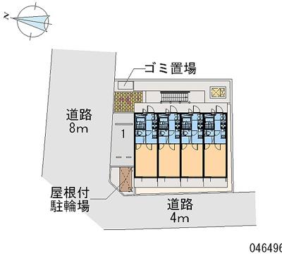 【地図】ノーブルシャトーⅡ
