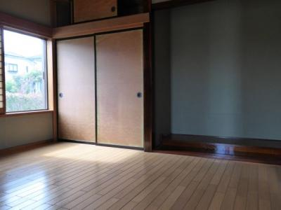 1F 和室をリフォームした洋室