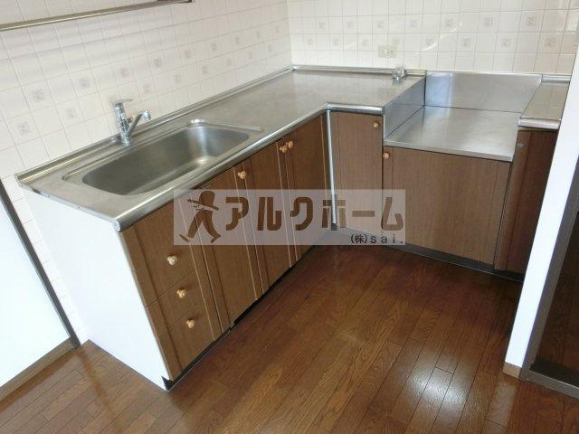 幸喜ビル(柏原市国分西) キッチン