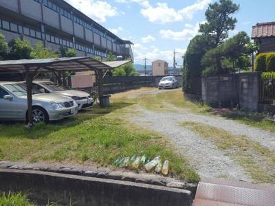 【外観】藤阪ダイハツ北駐車場