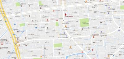 今八丁目合同ビル 岡山市北区今8丁目 テナント 地図