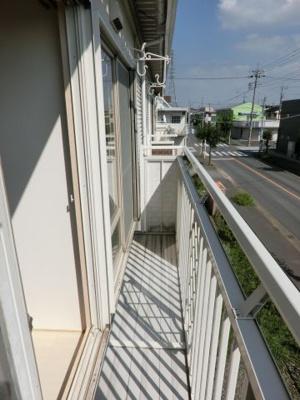 【バルコニー】森田ハイツ1