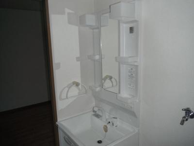 こまごました洗面グッズをしまいやすい洗面台