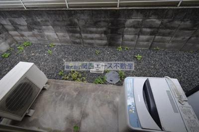 【バルコニー】瓢箪山第7マンション