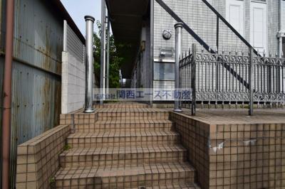 【エントランス】瓢箪山第7マンション