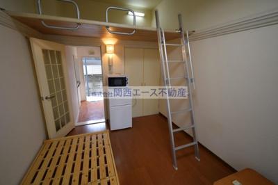 【居間・リビング】瓢箪山第7マンション