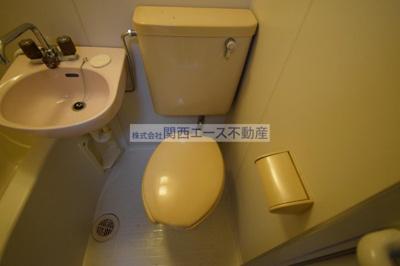 【トイレ】瓢箪山第7マンション