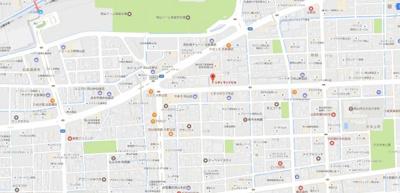 【地図】シルクⅢビル