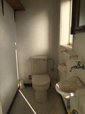 【トイレ】聖籠町藤寄貸事務所