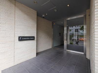 【エントランス】グラマシー横濱関内・当社では仲介手数料無料キャンペーン中