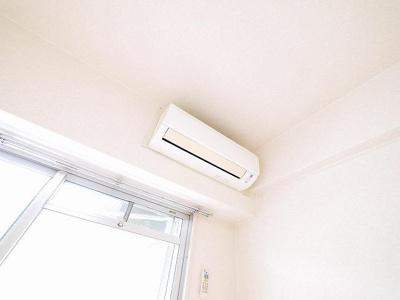 エアコンもあります