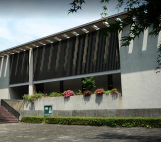 東京都世田谷区北沢5丁目売地 日本近代文学館が近くにあります。