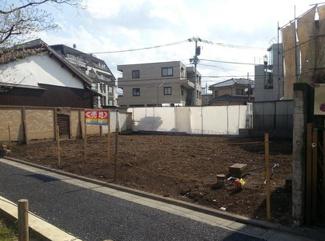 東京都世田谷区北沢5丁目売地 現地の写真です。