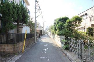 世田谷区千歳台三丁目の売地B 現地写真