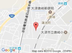 【地図】フォレストコート Ⅱ