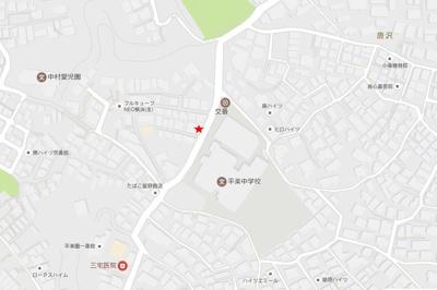 【地図】ポングランパーキング