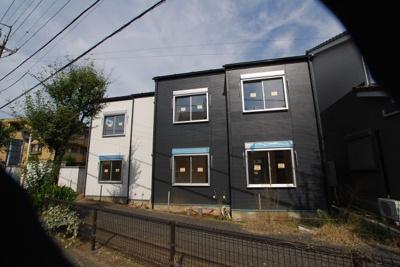 【外観】所沢市北有楽町新築売アパート