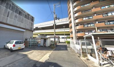 【周辺】瓜破6丁目倉庫