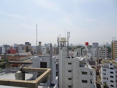 ウィルレーナ東京根岸 ベランダからの眺望も良好です!
