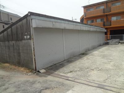 【外観】旭丘1丁目シャッター付き倉庫
