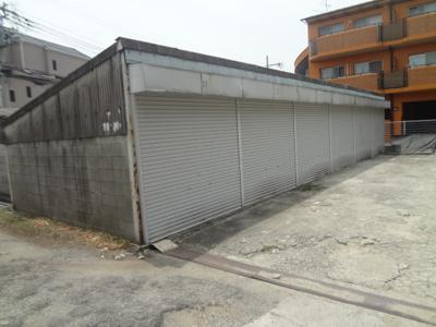 【和室】旭丘1丁目シャッター付き倉庫