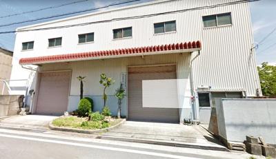 【外観】花谷建設建材センター後地 倉庫