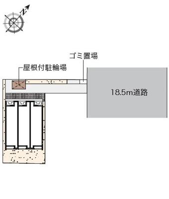 【地図】クレイノオカムラハイツ5
