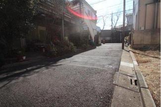 世田谷区桜丘二丁目の売地 現地写真