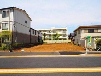 世田谷区宮坂一丁目の売地 現地写真