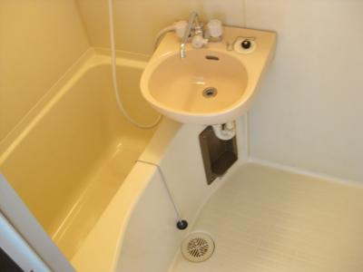 【浴室】コンフォール長吉