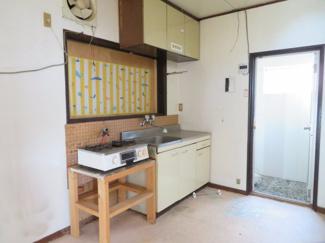 【キッチン】柏原貸事務所付住宅