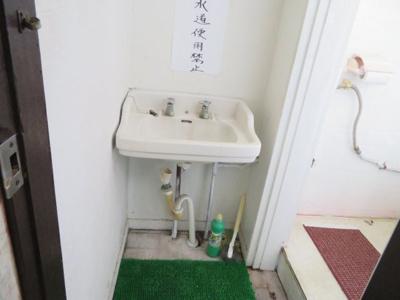 【洗面所】柏原貸事務所付住宅
