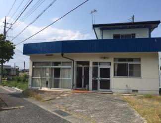 【外観】柏原貸事務所付住宅