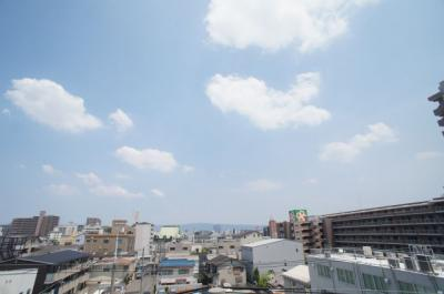 【展望】平野エアクリアロイヤルハイツ