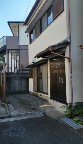 高知市大津乙の外観 少し高台です