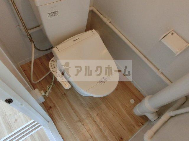 ビレッジハウス法善寺 トイレ セパレート お手洗い 温水トイレ