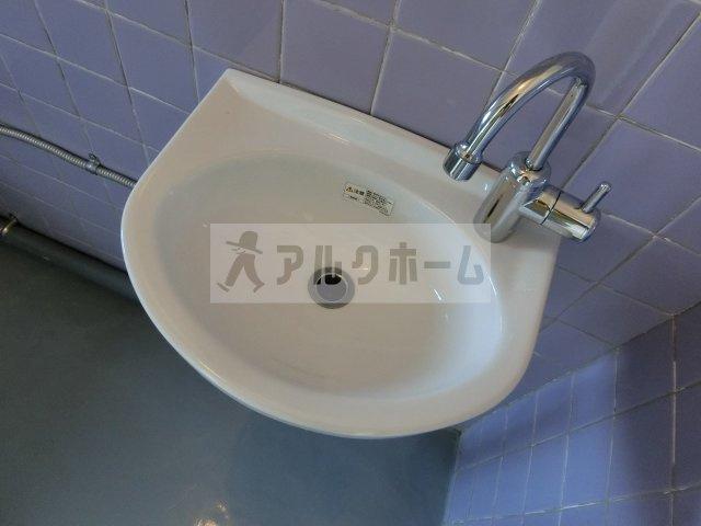 ビレッジハウス法善寺 独立洗面台 洗面台 セパレート