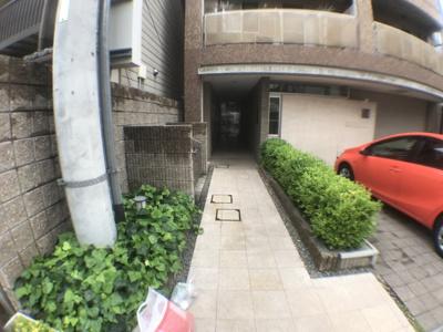 【エントランス】ウィステリアコート平野本町