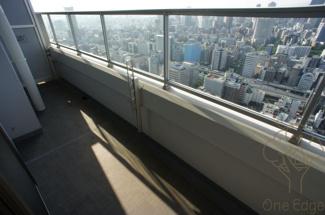 【バルコニー】大阪ひびきの街ザ・サンクタスタワー