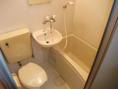 【浴室】ラベンダーハイツ