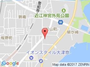 【地図】レイティー西大津3号館