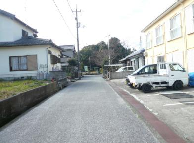 【前面道路含む現地写真】香我美町上分