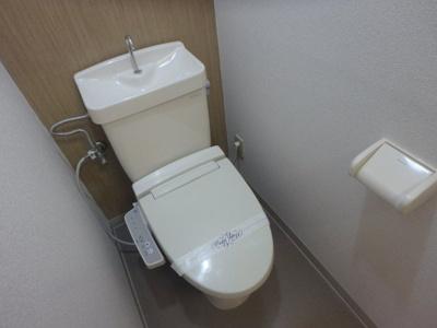 岡山市北区今 SKマンション 1K トイレ