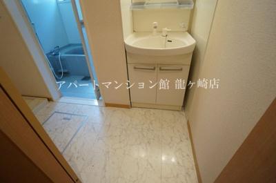 【洗面所】コーポラスヒロ F