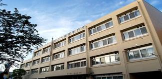 東京都大田区中央8丁目 建築条件付き売地 東京都立大森高校です。