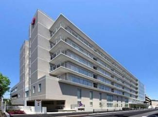 東京都大田区中央8丁目 建築条件付き売地 日本赤十字社東京都支部大森赤十字病院です。大きい病院が近くにあるので、いざという時も安心です。