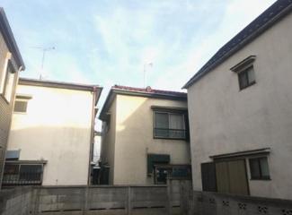 東京都大田区中央8丁目 建築条件付き売地 周りの建物も高くないので、開放感のある家が建てられます。
