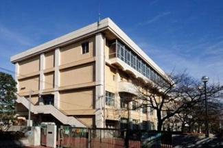 東京都大田区中央8丁目 建築条件付き売地 大田区立蒲田中学校です。