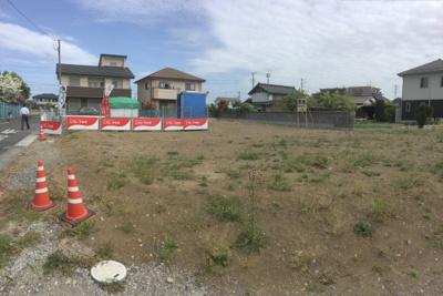 【前面道路含む現地写真】行田市門井町分譲地